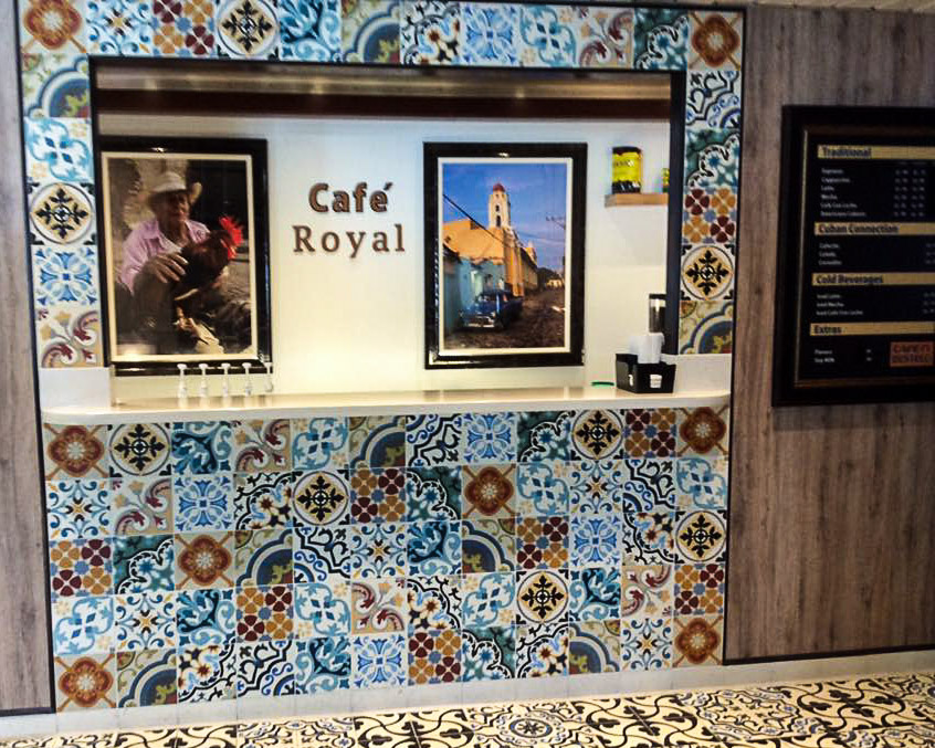 Empress of the Seas Boleros Cuban cafe