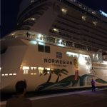 Norwegian Getaway docked for Rio OIympics
