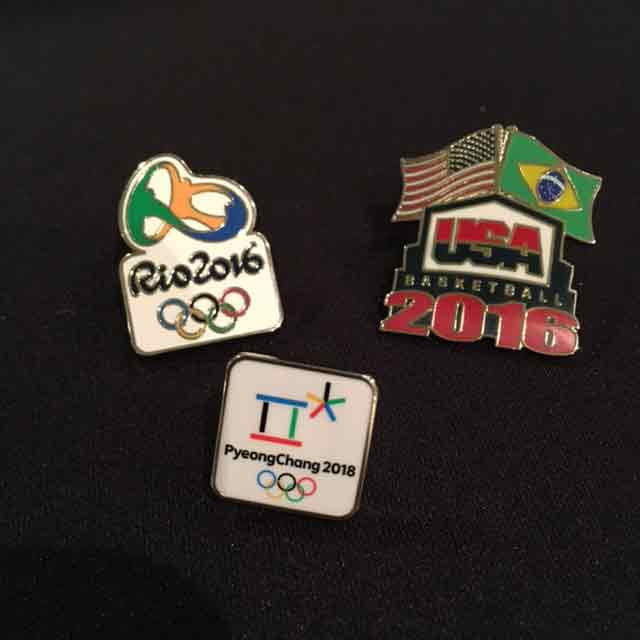 Olympic pins collection