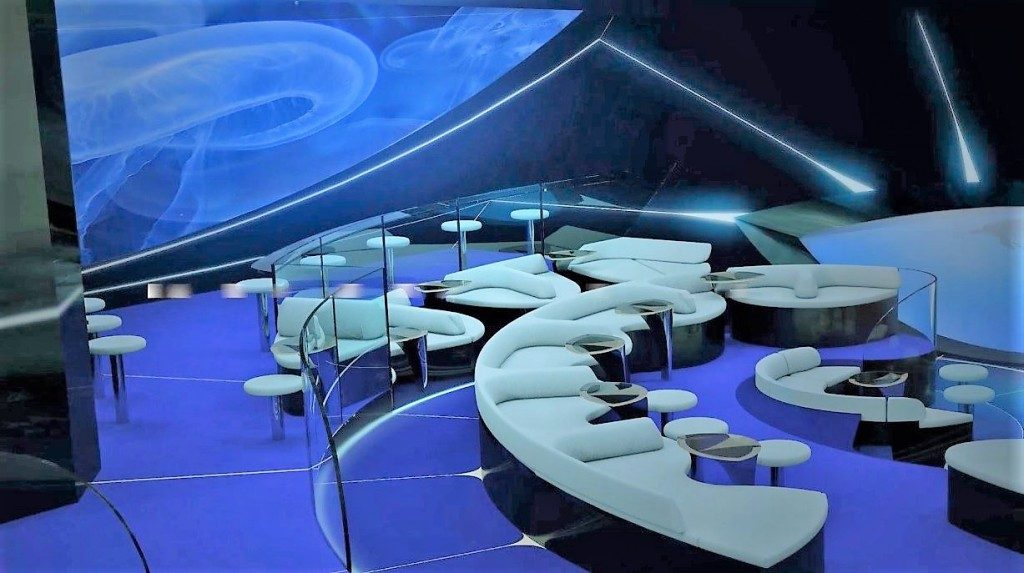 Ponant expedition cruise on new ships with underwater lounge