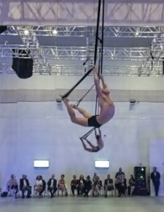 Celebrity Cruises Entertainment - Aerial performer at RCI Production Facility