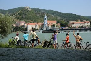 Motivate Millennials - bike riding along the Danube with AmaWaterways