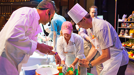 Best cruise ship food experiences Celebrity Top Chef challenge