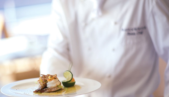 Best cruise ship food experiences - Silver Muse