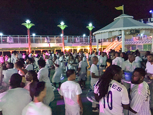 Music theme cruise charter - Ubersoca deck party