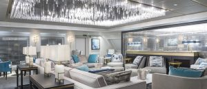 Luxury Mega-Yacht - Crystal Esprit Crystal Cove Lounge