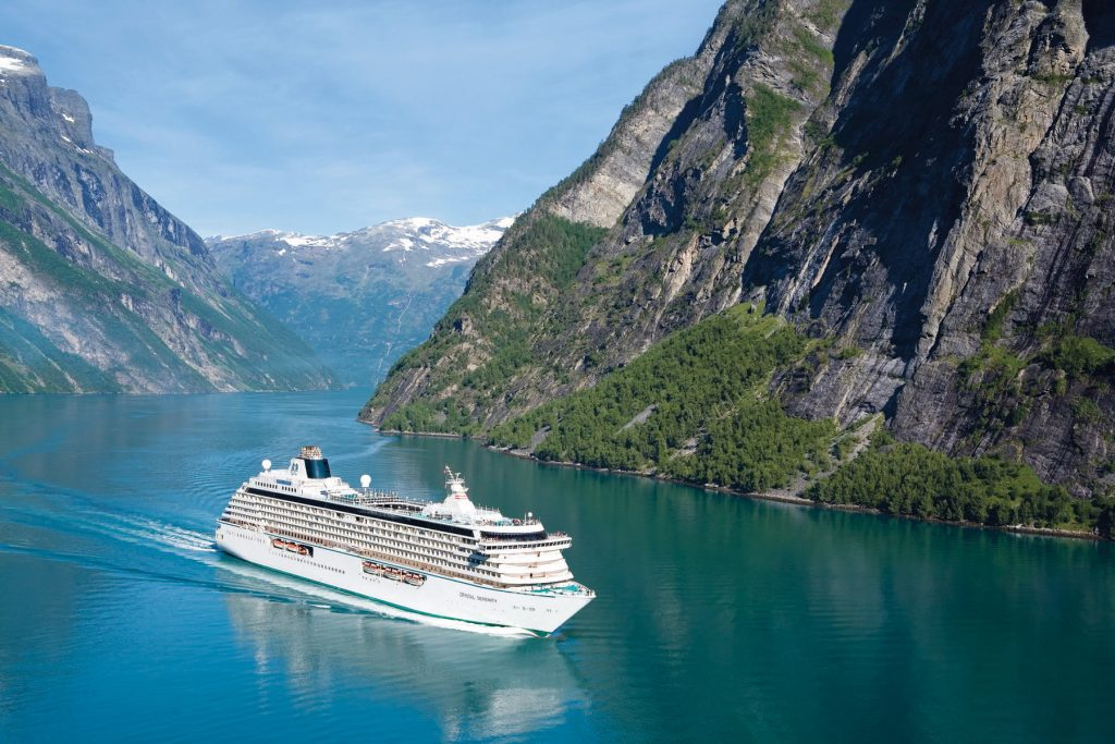 benefits of cruise-based meetings - Crystal Serenity in Norway