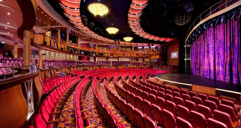 Allure of the Seas Theater- Corporate Group Cruise Special