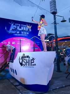 music theme cruise charter - Livescape It's the Ship street party in Penang
