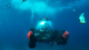 Crystal Esprit submersible - meeting planner challenge to add new adventure experiences