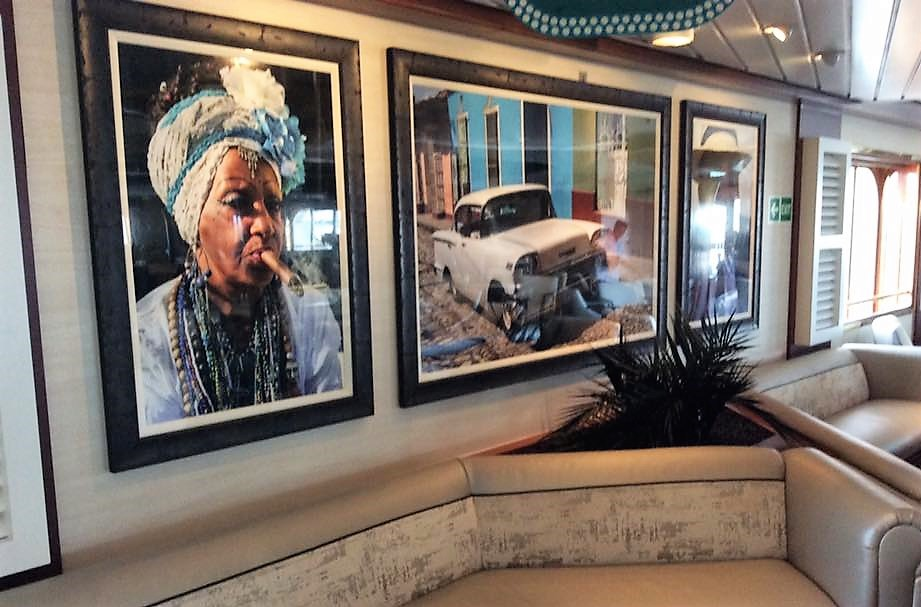 Incentive Cruises to Cuba-Empress of the Seas Bolero Lounge