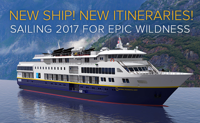 New Expedition Ship - National Geographic Quest