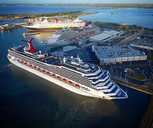 Pt Canaveral Cruise Ship Port, Florida