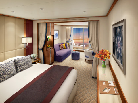 New luxury cruise ship - Seabourn Encore