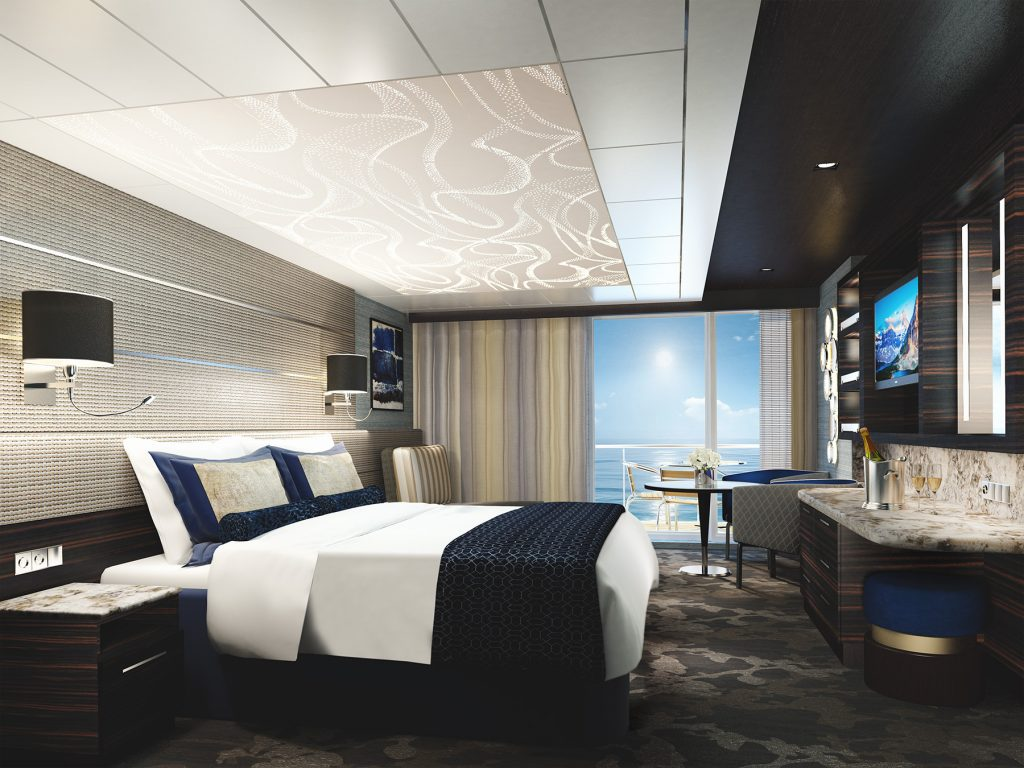 Norwegian Bliss The Haven Courtyard Penthouse Suite