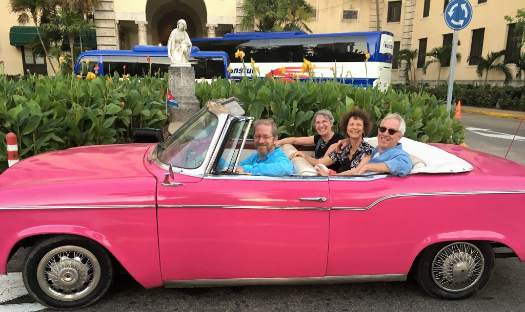 Joyce-friends-pink-chevy
