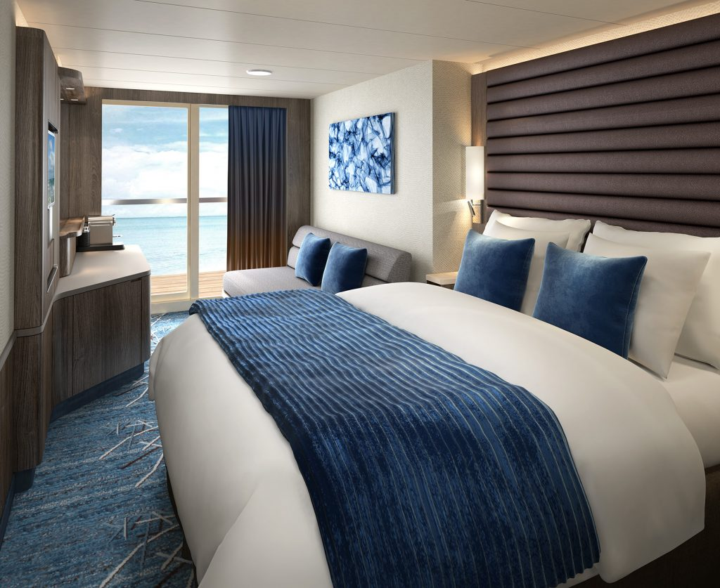 Norwegian Bliss balcony cabin