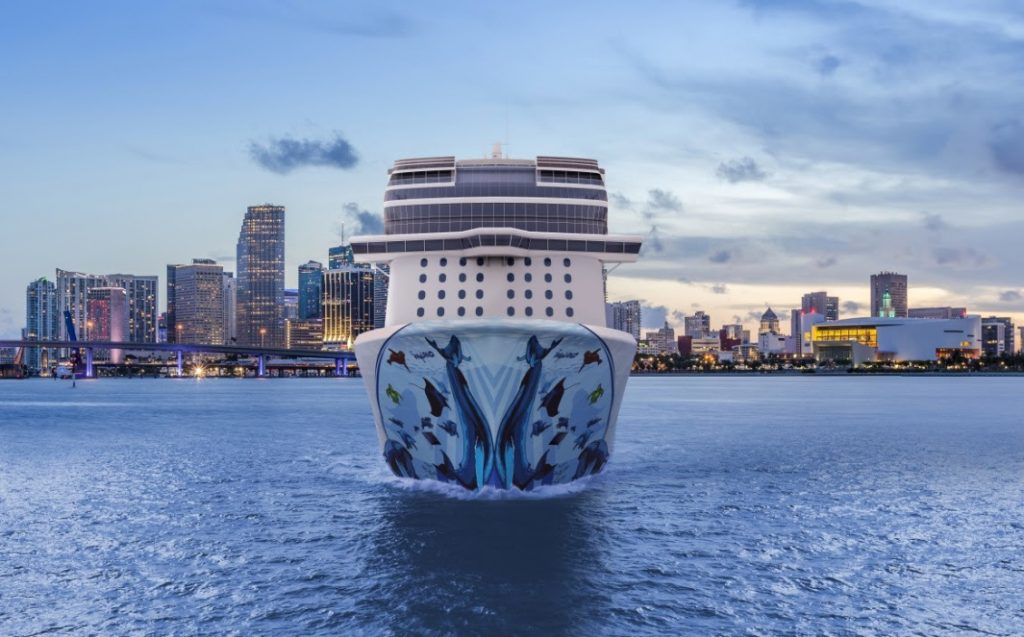 Drive-to Meetings on Norwegian Bliss
