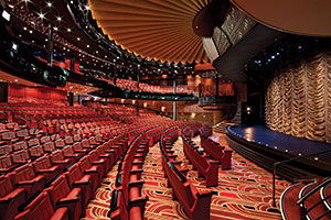 Nieuw Amsterdam theater - premium 3 & 4-night cruises