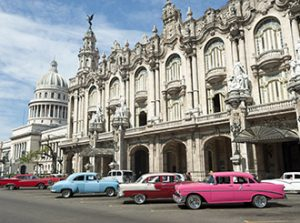 Short cruises to Cuba -classic cars in Havana