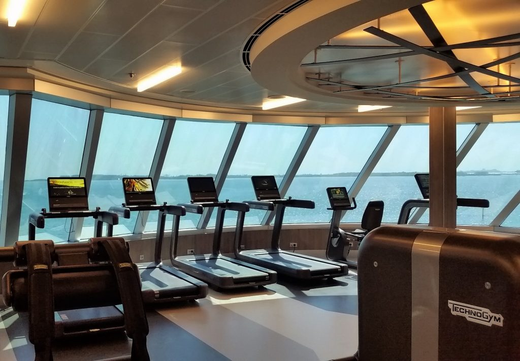 Seven Seas Explorer Fitness Center