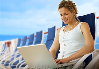 Anthem of the Seas Voom high-speed WiFi - cruise event trrends
