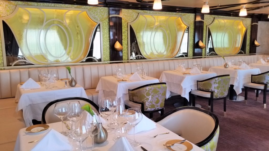 Seven Seas Explorer Luxury ship -Chartreuse Restaurant