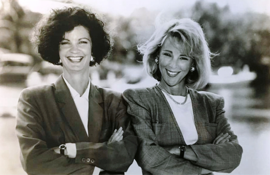 Cruise Industry Leaders - Landry & Kling Founders Joyce Landry, Jo Kling in 1988