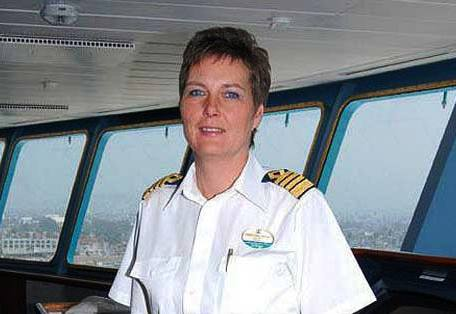 Captain Karin Stahre-Janson on Monarch of the Seas