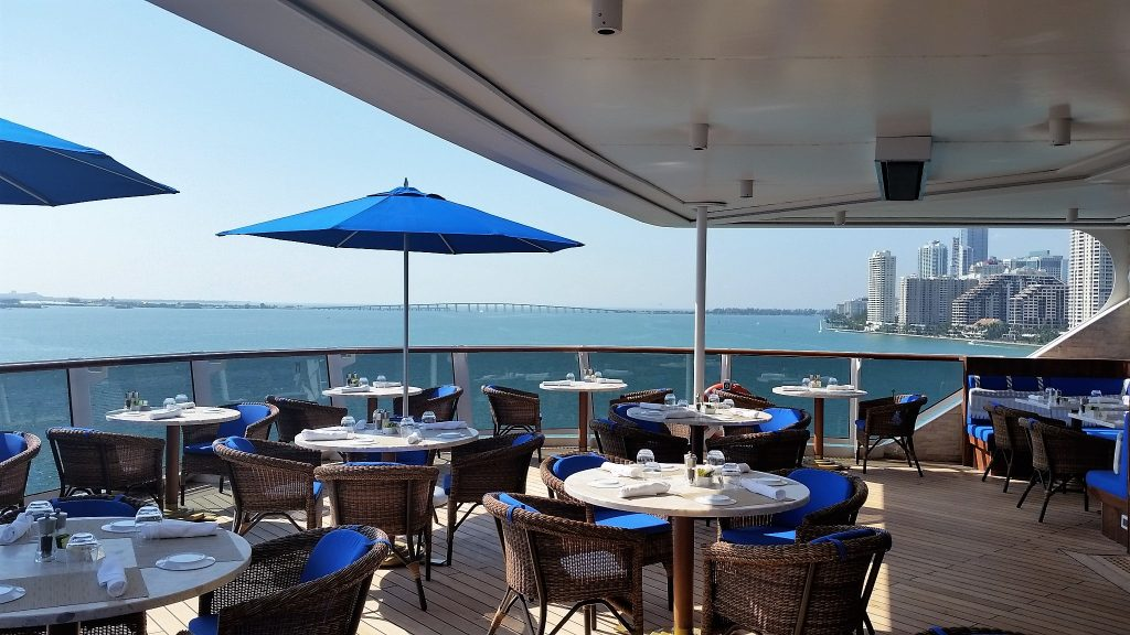 Seven Seas Explorer - luxurious ship - La Veranda restaurant