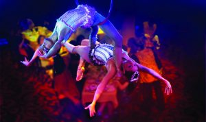 Cirque Aerial Dinner Show on Norwegian Breakaway