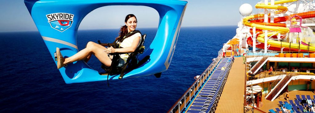 Carnival SkyRide on Carnival Vista