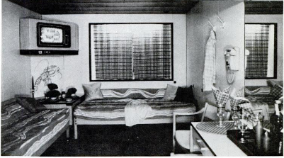 Holland America cabin, 1982- the year Landry & Kling was founded