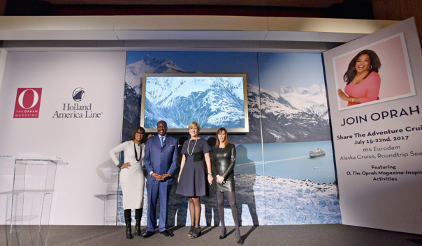 Holland America Line partners with O Magazine