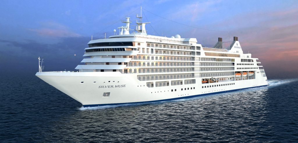 Silver Muse luxury ship from Silversea
