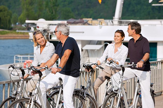 Uniworld Biking Tour - how to add wellness to meetings & incentives