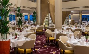 Short cruises on a new ship - Nieuw Amsterdam restaurant