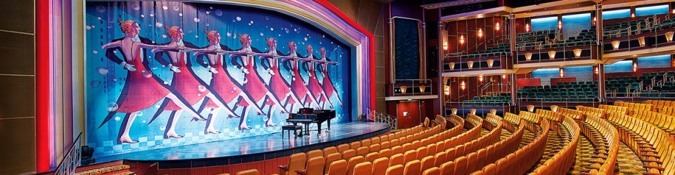 Mariner of the Seas Savoy Theater - short cruises to Bahamas