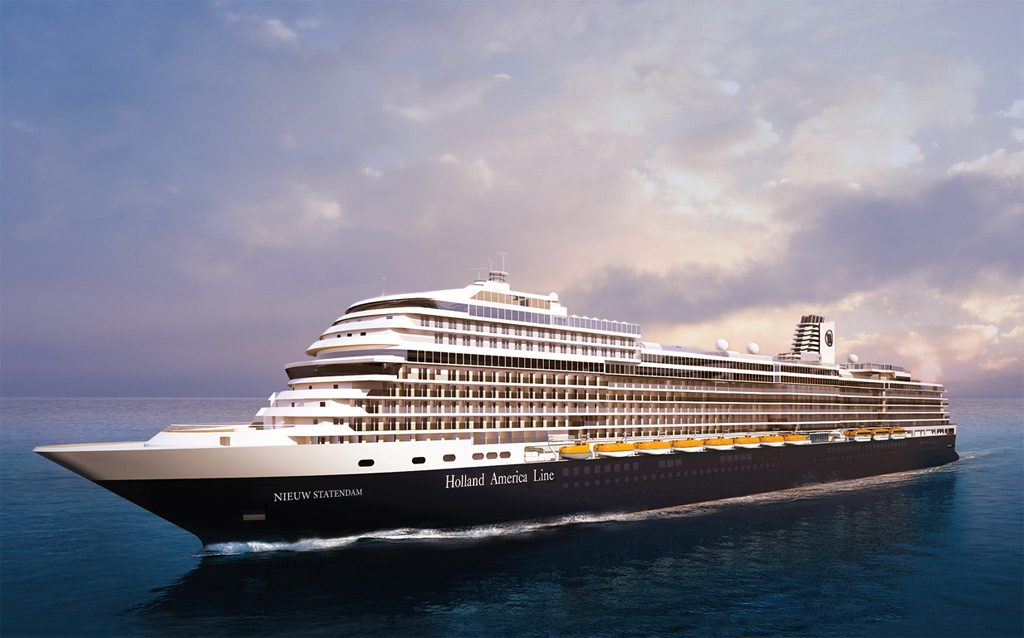 Short cruises on a new ship - Holland American Nieuw Statendam