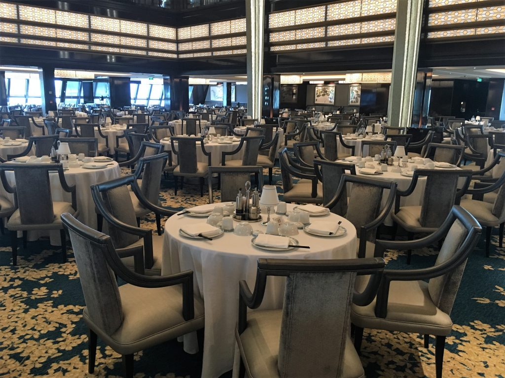 Norwegian Joy charter - Main Dining Room