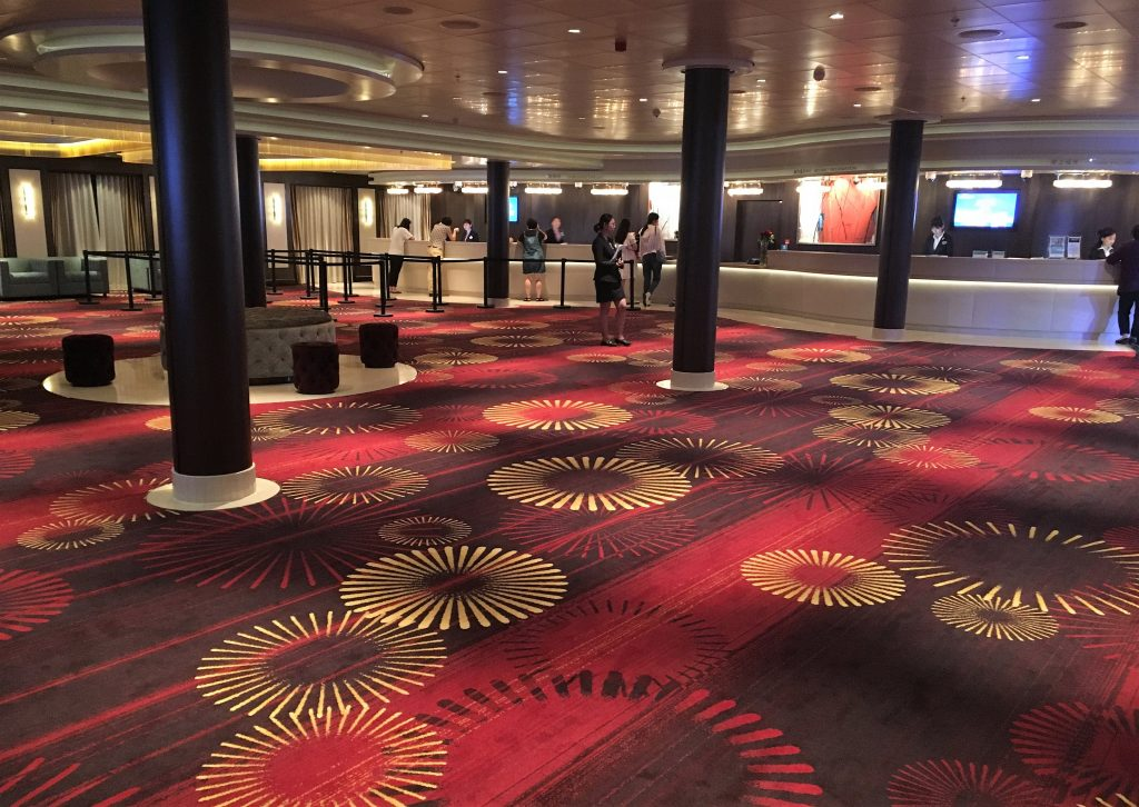 Norwegian Joy Lobby - Alibaba Ship Charter