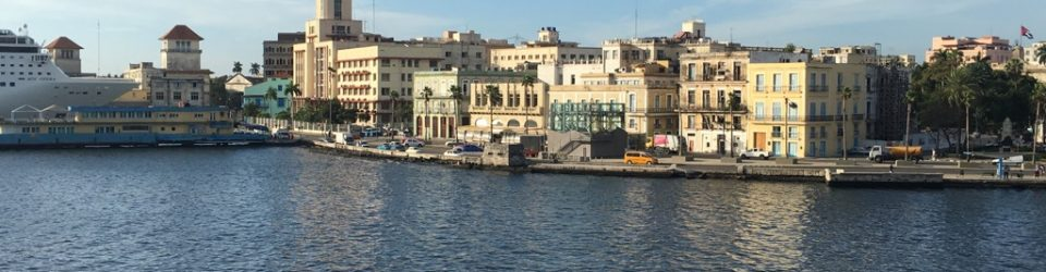 Havana Harbor from cruise ship