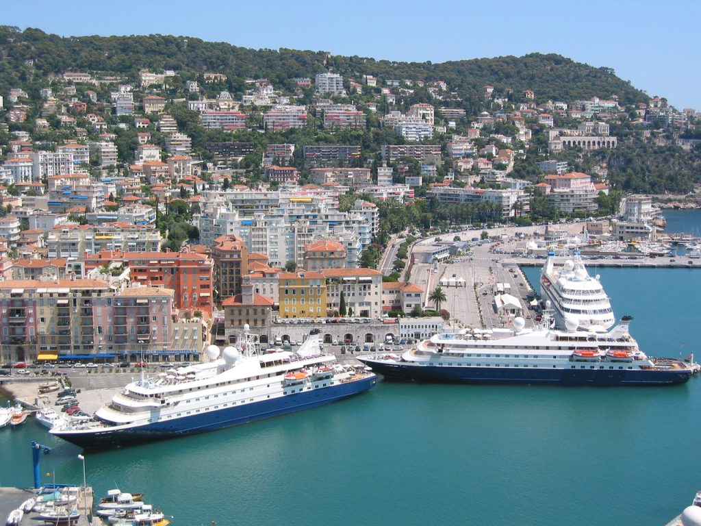 SeaDream twin yachts in Nice - 5 night Mediterranean cruise