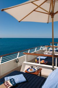 SeaDream Yacht Club Balinese Dream Beds