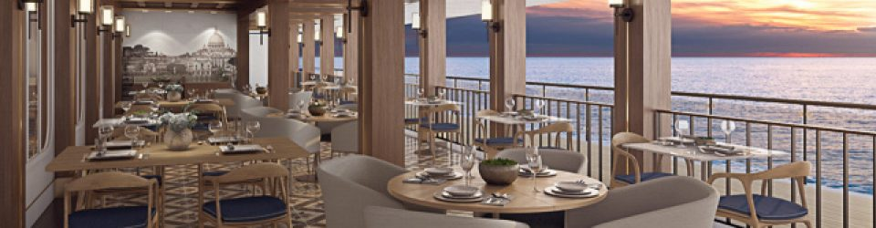 Norwegian Bliss - La Cucina Waterfront dining