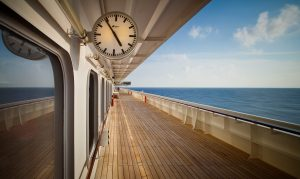 Crystal Cruise ship promenade deck