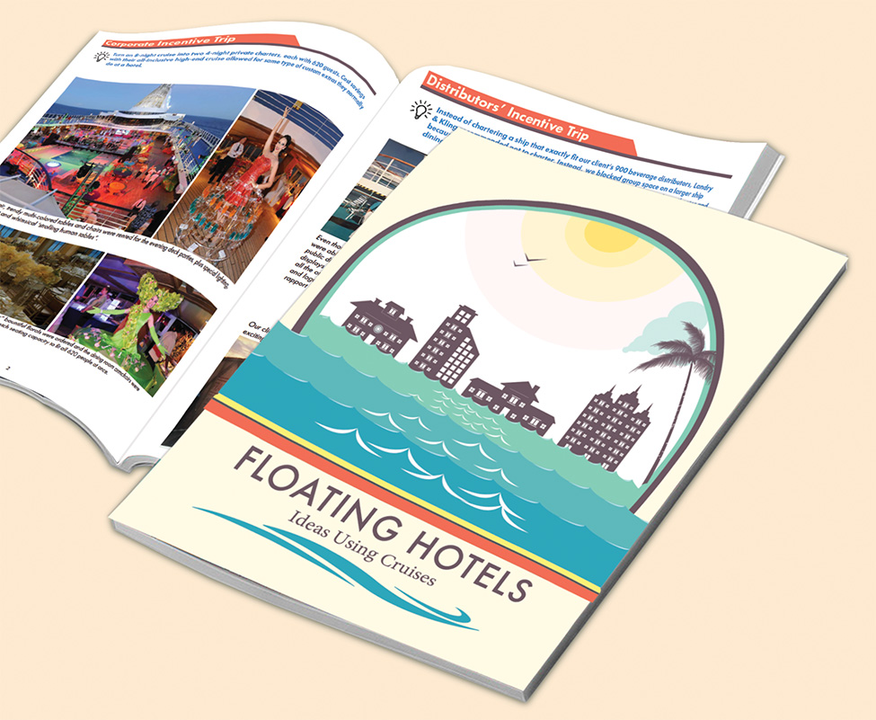 Floating Hotels guide to cruise meetings, events at sea