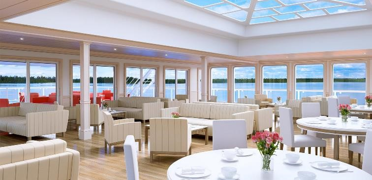 American Song lounge - modern American Riverboat