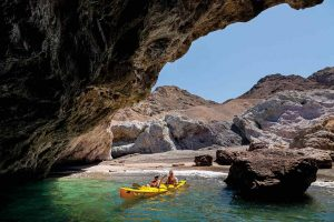 Lindblad National Geographic Venture 4-nt wellness expeditions in Baja - Kayaking