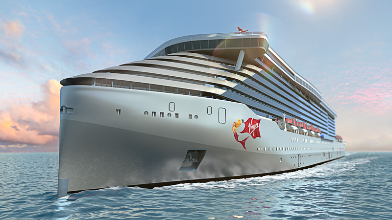 Virgin Voyages prototype ship